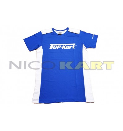 T-SHIRT TOP KART blu/bianco NEW!!