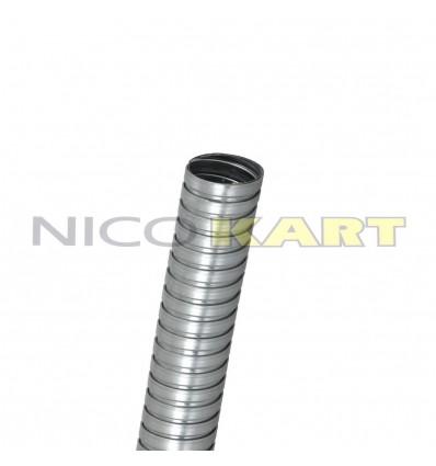 Flessibile zincato per marmitta 100cc D.50mm L.13cm